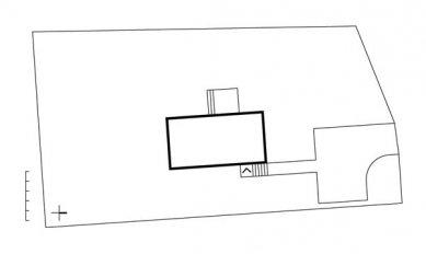 Rodinný dům v Mořině - Situace - foto: ARCHTEAM