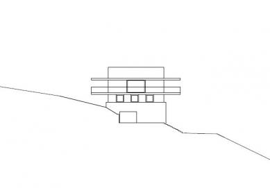 House by the Lake - Severovýchodní pohled - foto: marte.marte architekten