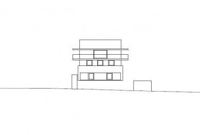 House by the Lake - Severozápadní pohled - foto: marte.marte architekten