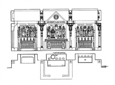 Kostel svatého Ducha - Návrh oltáře