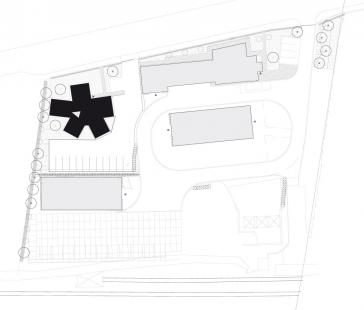 Administrativní budova Rapos - Situace - foto: New Work
