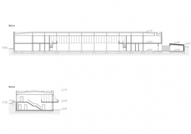 Dřevák - Řezy - foto: Atelier M1 architekti s.r.o.