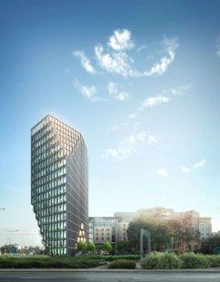 Administrativní budova Bałtyk - Vizualizace - foto: MVRDV
