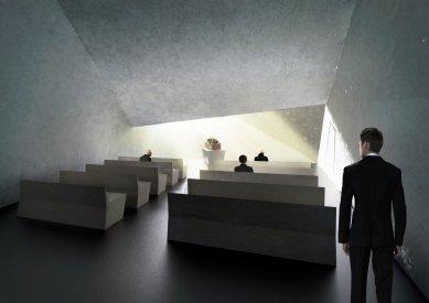 Smuteční síň Svinov - Interiér