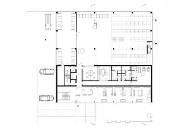 Interior Style Plus - Půdorys přízemí - foto: Ing. arch. Milena Galátová, Ing. arch. David Jiříček