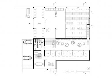 Interior Style Plus - Půdorys patra - foto: Ing. arch. Milena Galátová, Ing. arch. David Jiříček