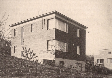 Interior of Single Bata House in Zlín - Původní podoba domu z roku 1936 - foto: archiv autora