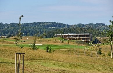Klubovna Panorama Golf Resort - foto: René Volfík