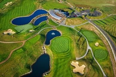 Klubovna Panorama Golf Resort - foto: Aleš Jungmann