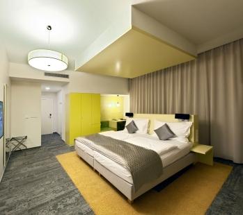 Hotel Fairhotel - Žlutý pokoj - foto: Karel Poneš