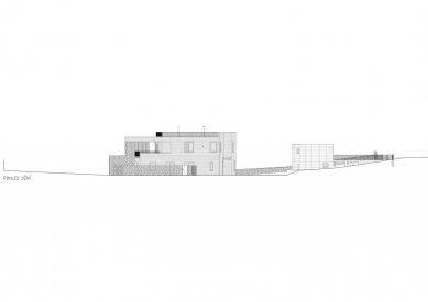 Rodinný dům v Olomučanech - Jižní pohled - foto: New Work