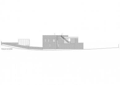 Rodinný dům v Olomučanech - Severní pohled - foto: New Work