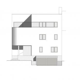 Reconstruction of family house under Kraví hora - Severní pohled - foto: Urban Čelikovský Architekti