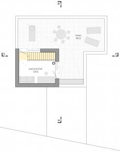 Family house Libcice - Půdorys 3NP