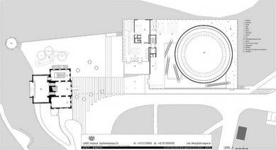 Tyrolské zemské muzeum - Půdorys přízemí - foto: stoll.wagner architekten