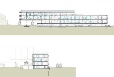 Provozní budova IVB - Řezy - foto: lorenz ateliers