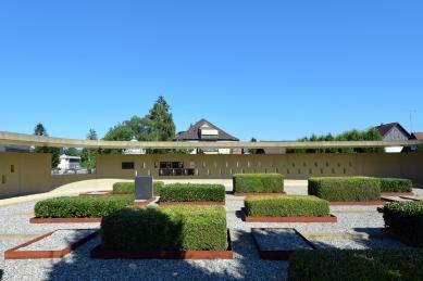 Rozšíření hřbitova ve Fussachu - foto: Petr Šmídek, 2015