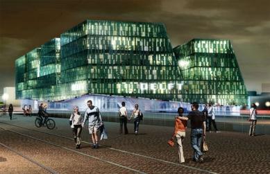 Hlavní vlakové nádraží Delft - Soutěžní návrh - foto: Mecanoo
