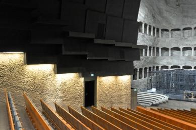 Hudební sál v bývalé jezdecké škole - foto: Petr Šmídek, 2017
