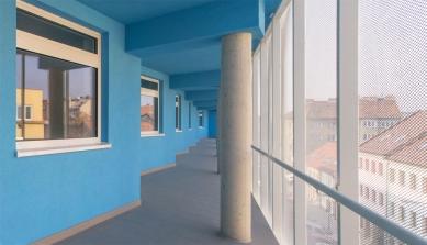 Rekonstrukce bytového domu Francouzská - foto: Ateliér AGP
