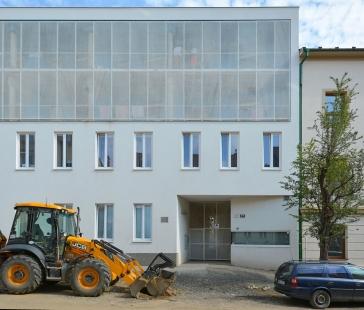 Rekonstrukce bytového domu Francouzská - foto: Petr Šmídek, 2017