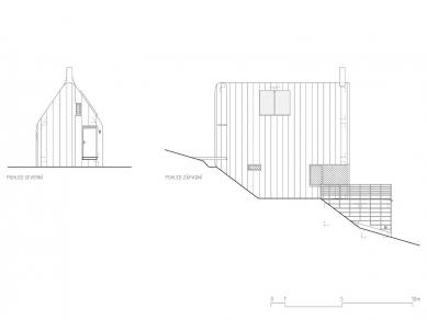 Rekonstrukce rekreační chaty - Pohledy - foto: studio New Work