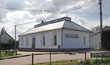 Přestavba obecního domu Lukoveček