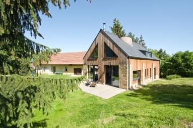 Rekonstrukce stodoly na rodinný dům - foto: Jiří Ernest