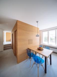 Rekonstrukce bytu Lipová - foto: Jakub Holas