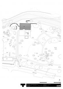 Rekonstrukce Volmanovy vily - Situace - foto: Architektonická kancelář TaK