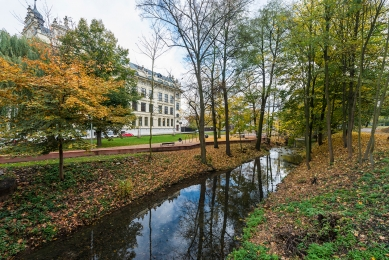 Obnova nábřeží řeky Loučné - foto: Jan Slavík