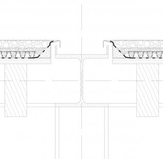 Obnova nábřeží řeky Loučné - Detail pavilonu - foto: Rusina Frei architekti