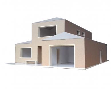Dům ve Zličíně - Fotografie modelu - foto: Rusina Frei architekti