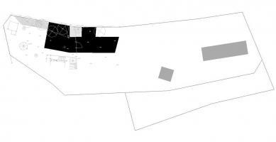 Administrativní budova ve Strančicích - Situace
