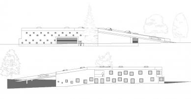Administrativní budova ve Strančicích - Pohledy