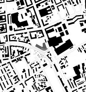 Štýrské mediální centrum - Situace - foto: Architektur Consult ZT