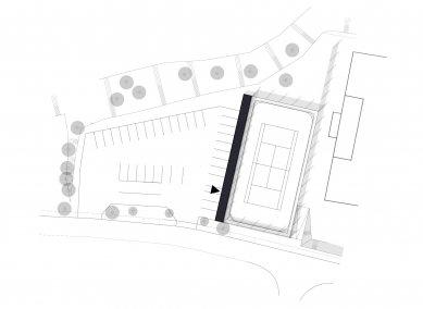 Sportovní klub Voselno - Situace - foto: re: architekti
