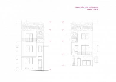 Rekonstrukce rodinného domu v Králově Poli - Pohldy - návrh - foto: KAMKAB!NET