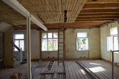Rodinný dům v Českém Krumlově - Fotografie původníh stavu - foto: Pavlíček + Hulín architekti