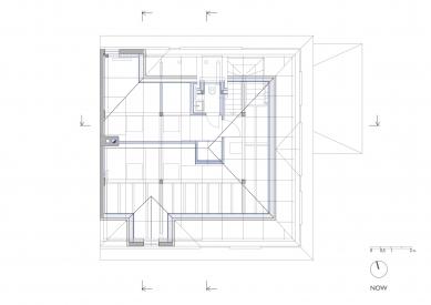 Rodinný dům v Českém Krumlově - 3NP - návrh - foto: Pavlíček + Hulín architekti