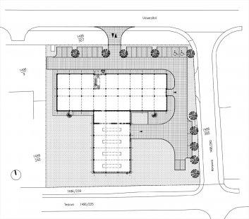 Vývojové centrum Value Engineering Services - Situace - foto: AVE architekt