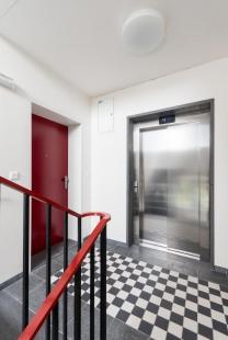 Bytový dům Domino - foto: Ing. arch. Bořivoj Čapák