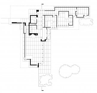 Jacobs House - Půdorys