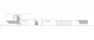 Rodinný dom Greenline - Jihozápadní pohled - foto: architekti Šercel Švec