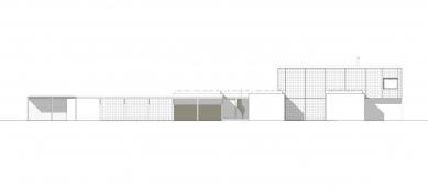 Rodinný dom Greenline - Severovýchodní pohled - foto: architekti Šercel Švec
