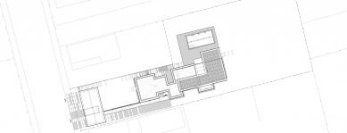 Rodinný dom Greenline - Situace - foto: architekti Šercel Švec