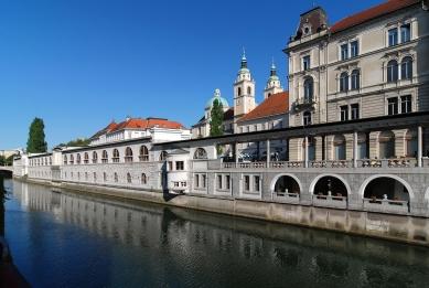 Lublaňská ústřední tržnice - foto: Petr Šmídek, 2008