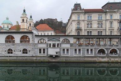 Lublaňská ústřední tržnice - foto: Petr Šmídek, 2007