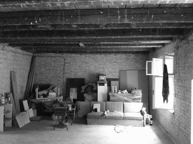 Vlastný ateliér Plusminus - Fotografie původníh stavu - foto: Plusminusarchitects