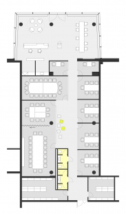 Klientské centrum ABB - Půdorys